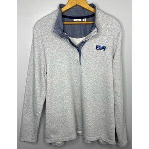 L.L. BEAN Soft Cotton Rugby Sweatshirt
